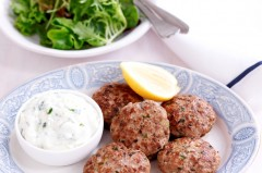 Herb and lemon rissoles