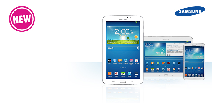 New Samsung Galaxy Tab 3 – Now Here
