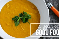 Local is Lovely Pumpkin Soup